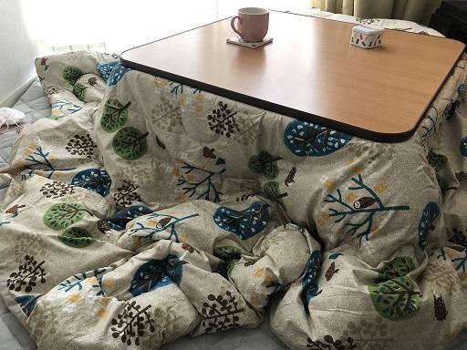 ニトリのコタツ布団