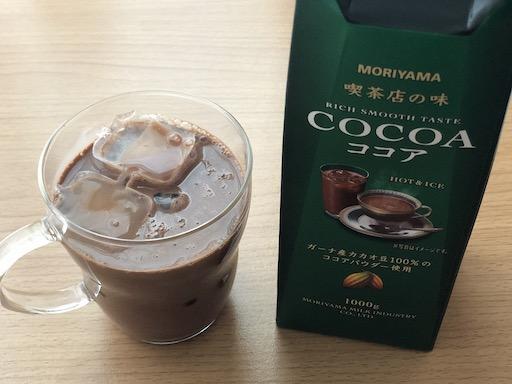 喫茶店の味ココア2